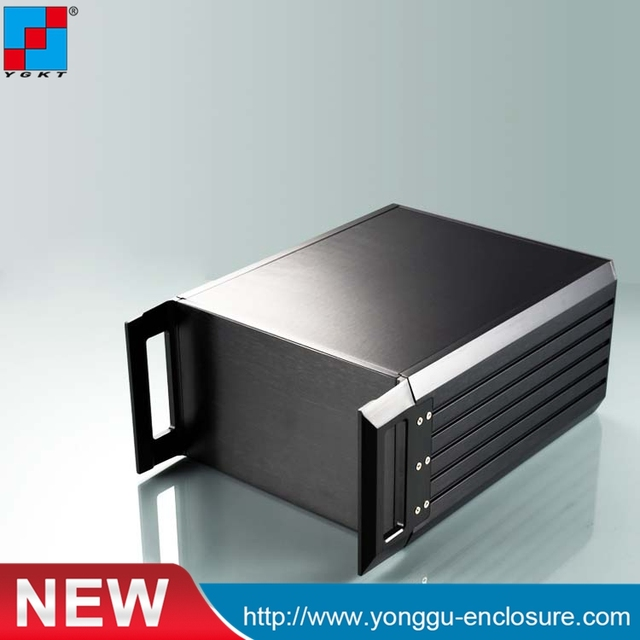 3U electronic project box 229*133.4 270mm extruded aluminum project ...