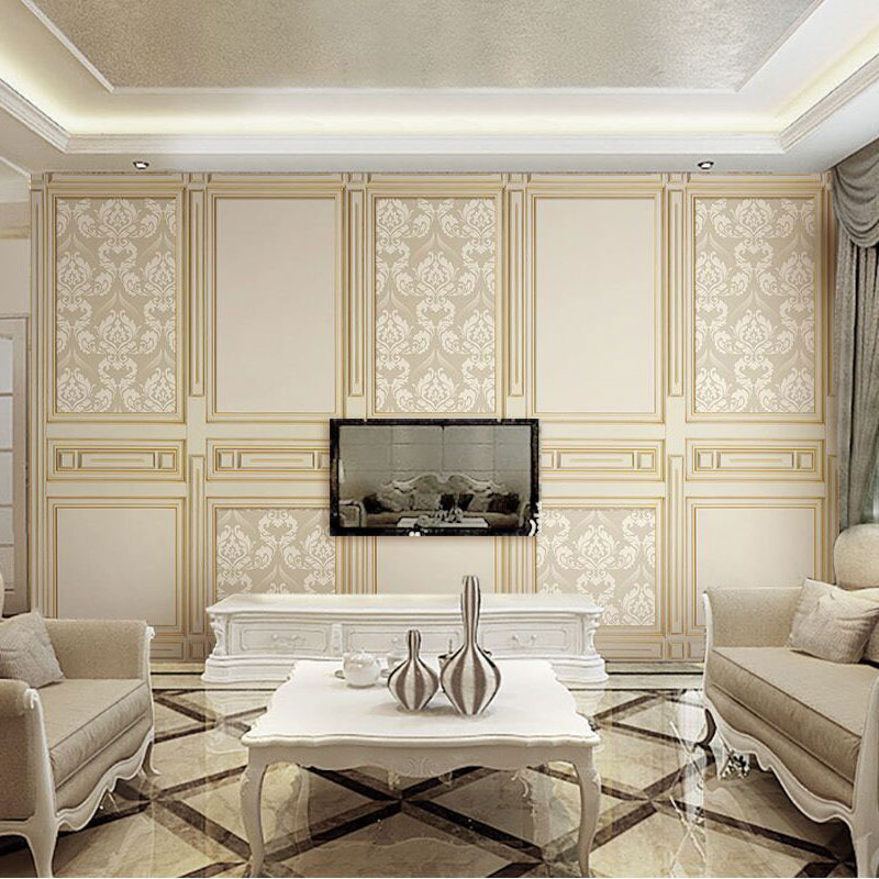 8D Papel Mural 3d Wall Panel Mirror 3d Damascus Wallpaper Murals 3D Wall paper Photo Murals for Living Room Sofa Background custom photo wallpaper 3d wall murals balloon shell seagull wallpapers landscape murals wall paper for living room 3d wall mural