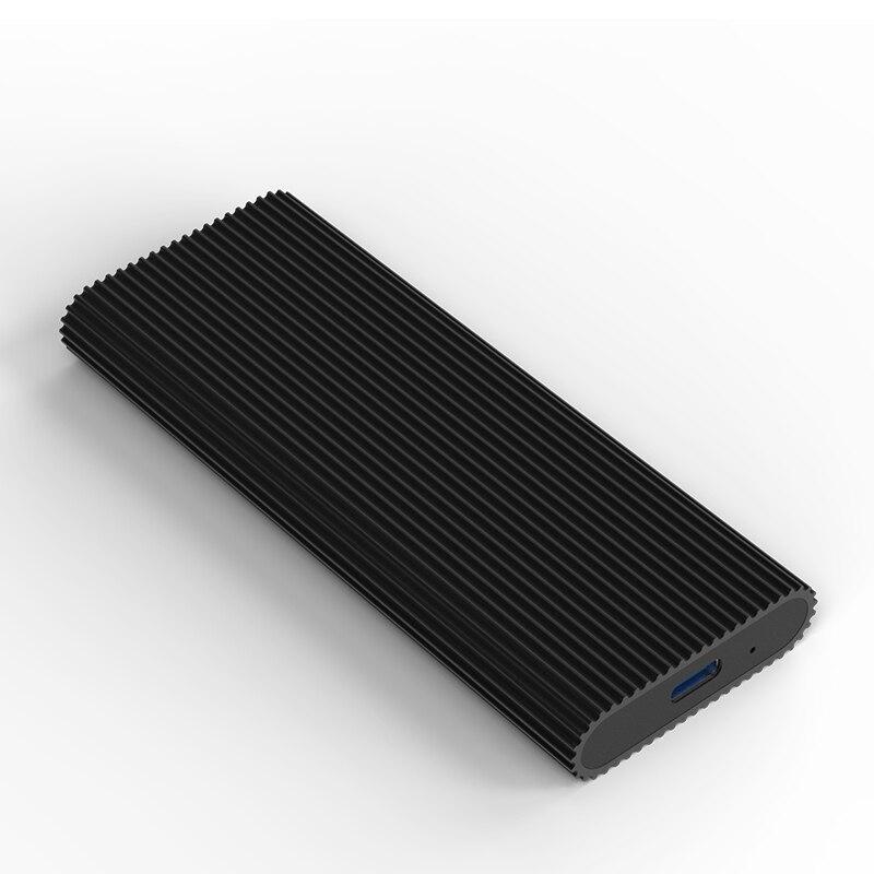 Nouveau usb3.1 type-c boîtier ssd convertisseur PCIE msata NVME boîtier de disque dur boîtier en aluminium ssd boîtier - 4