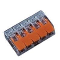 бесплатная доставка мини полунесущие быстро провода инструменты для наращивания волос, универсальный компактный распайке коннектора пуш-в дирижер клеммный блок