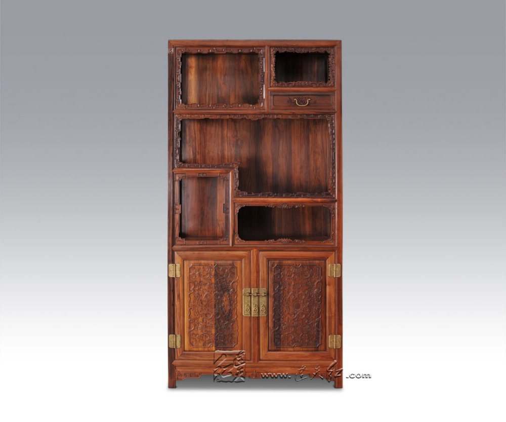 Bücherregal Japanisch Us 6883 7 5 Off Wohnzimmer Möbel Einreichung Schrank Massivholz Bücherregal China Antike Palisander Redwood Magazin Racks Multi Funktion Regale In