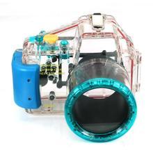 Carcasa a prueba de agua Carcasa de La Cámara para Sony nex-c3 Nex c3 18-55mm Lente