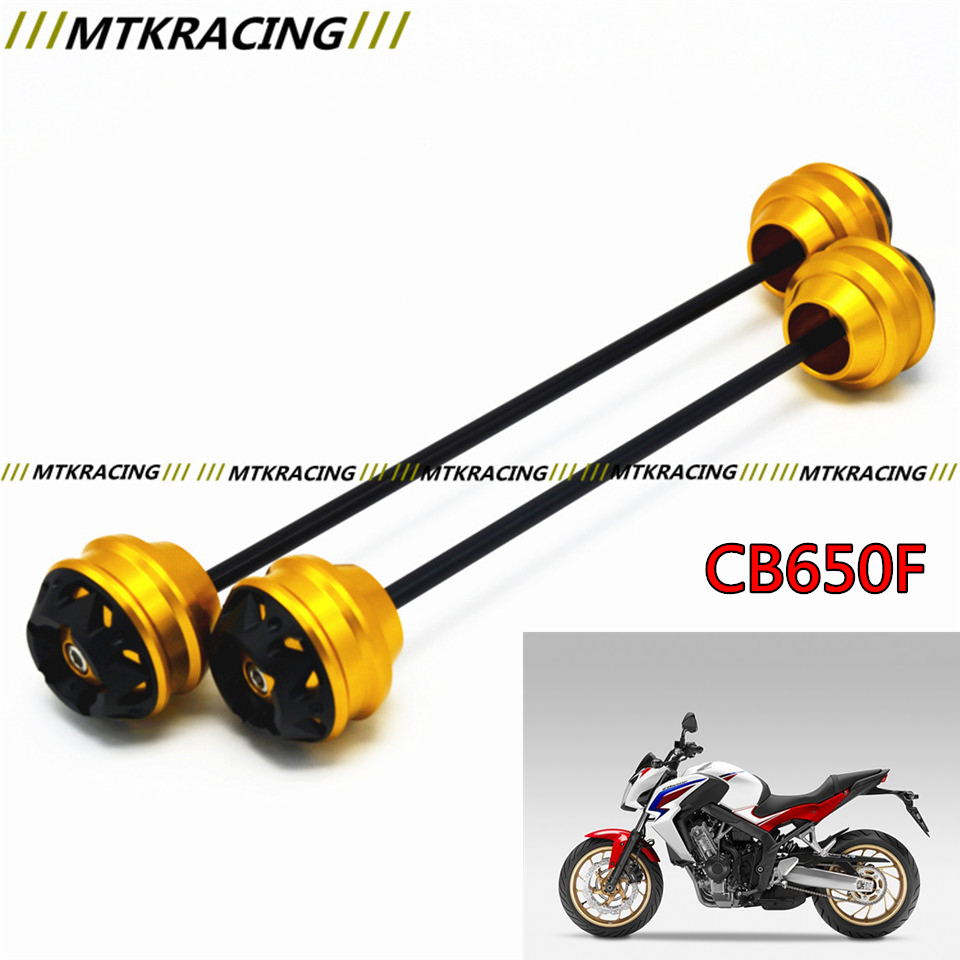 MTKRACING Free delivery for HONDA CB650F 2014-2015 CNC Modified Motorcycle Rear wheel drop ball / shock absorber yuvraj singh negi biopolymers for targeted drug delivery systems