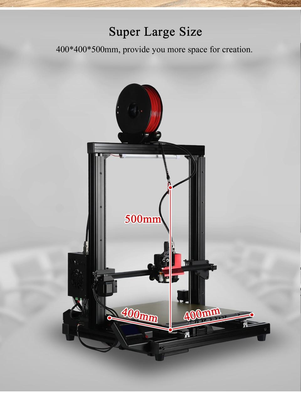 VIVEDINO Raptor 2.0 Big 3D Printer
