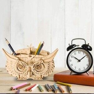 Image 2 - 3D пазл колесо обозрения Robotime, деревянная модель, строительные наборы, популярные развивающие игрушки, подарки для детей и взрослых TG