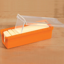 Pawaca 1pc Butter Cheese Cutter Box Slicers Knife Silicone Dough Plane Grater Slicing Tools Serving Storage