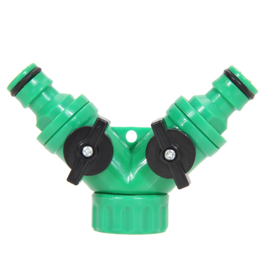 High Quality New Hot ABS Plastic Hose Pipe Tool 2 Way Connector 2 ...