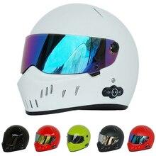 Universal Star Wars casco de La Cara Llena de La Motocicleta ATV Motocross Monstruo Auriculares Bluetooth burbuja Downhill Crash kask Casque Cráneo