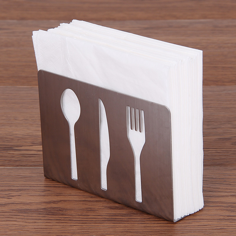 1PCS 1PCS Creative Cutout Restaurant Towel Holder Toilet Paper ...