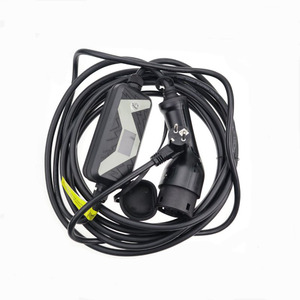 Image 2 - Elektrische Voertuig EVSE Autolader voor Nissan Leaf voor Ford Type 2 EV Charger Schuko Plug chademo 20A IEC 62196 2