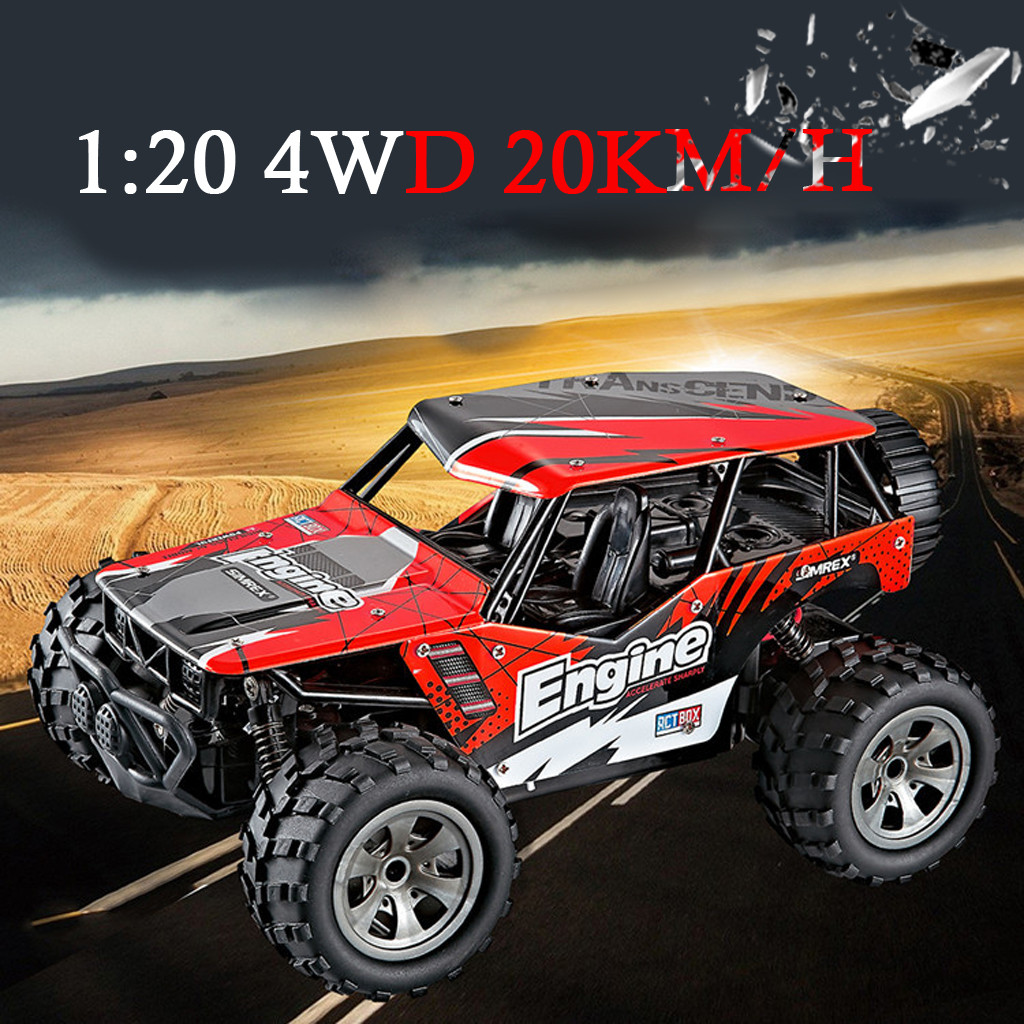 1:20 Scale RC Car 4D Off Road Vehicle 2.4G 20km/h Radio Remote Control Car Drop Shipping new arrival