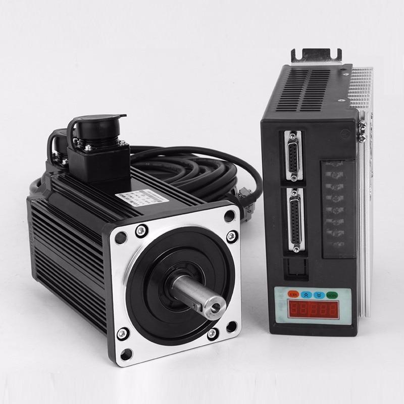 Livraison Gratuite 7.5KW servo moteur kits 180ST M48015 3 phase moteur 48N. M 380 V 7500 W moteur synchrone à aimant permanent - 3