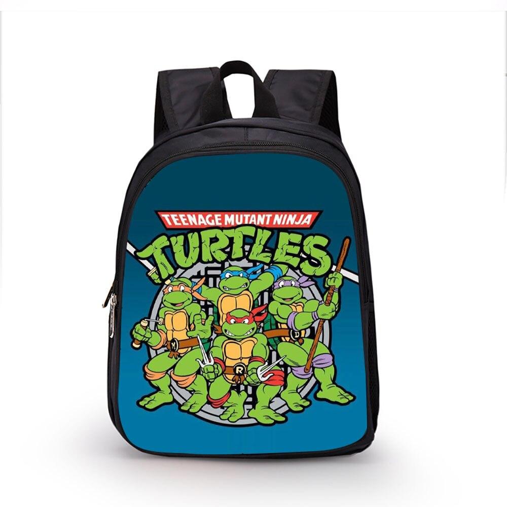 Turtles Inch Backpack 16 Anime Nylon Teenage Ninja Cartoon Mutant qAx7XwP7n4