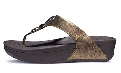 reasonable price nice cheap good service Bestselling Womens Flip Flop Sandal Brand New Lunetta Toning Shoes ...