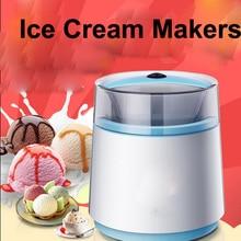 Домашняя машина для мороженого с двойным слоем для сохранения тепла и охлаждения в подарок для детей DIY 200 Вт