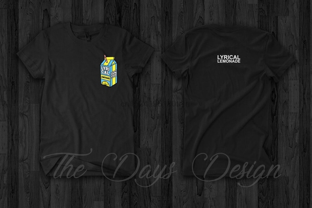 US $12 99 |Lyrical Lemonade Official Logo Merch T Shirt Men Music  Clothing-in T-Shirts from Men's Clothing on Aliexpress com | Alibaba Group