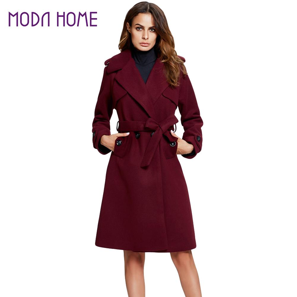 Online Get Cheap Burgundy Trench Coat -Aliexpress.com | Alibaba Group