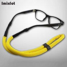 Imixlot 6 цветов плавающая цепочка для солнцезащитных очков спортивные очки шнур для очков держатель для очков шейный ремешок цепочка для очков для чтения