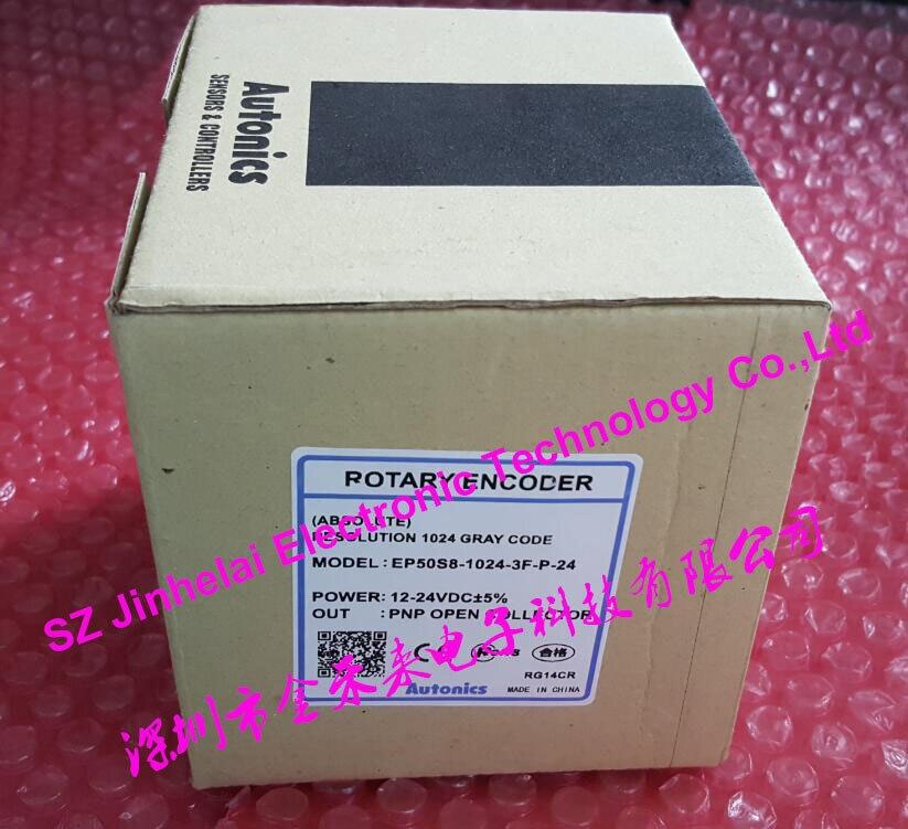 EP50S8-1024-3F-P-24 New and original AUTONICS ABSOLUTE ROTARY ENCODER rotary encoder szn30 1024rf 30j etf ht 1024 r38h 8g5 24f30bm eg120p45 h4pr 1024