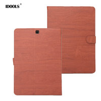 PU Leather Case For Samsung Galaxy TAB S2 T810 T815C 9 7 Inch High Quality Folding