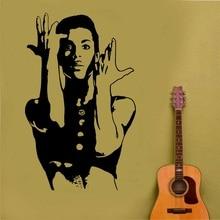 Príncipe decalque quando pombas cry cele pop cantor urbano arte da parede adesivo cartaz casa quarto design arte decoração 2yy42