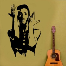 Prince decal when Doves Cry cele urban pop singer Wall Art Sticker poster home bedroom art design decoration 2YY42