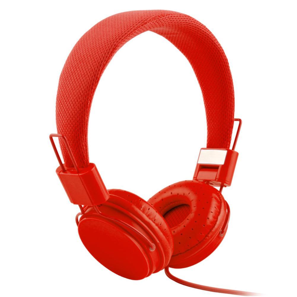 Популярные складные Hi-Fi наушники карамельных цветов с проводным управлением, музыкальная гарнитура с микрофоном