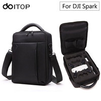 DOITOP Shoulder Bag Storage Box Waterproof Case Handbag For DJI Spark Drone & Accessories Portable Carry Bag for DJI Drone #3
