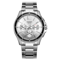 Casio שעון גברים של שעון מצביע סדרת רב פונקצית הכרונוגרף עסקי מזדמן שעון גברים של שעון MTP-1374D-7A