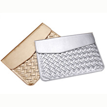 Stylish Shimmering Durable Leather Laptop Case