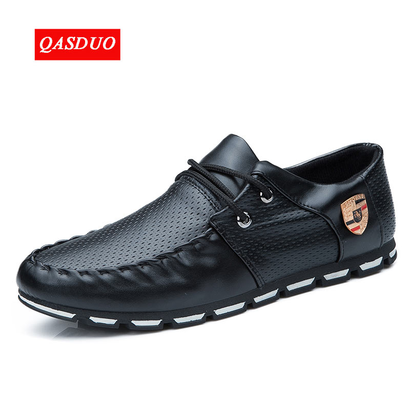 QASDUO New Brand Running Sneakers For Men Soft Moccasins Men Loafers Leather Shoes Flats Gommino Driving Shoes Zapatos hombre genuine leather shoes men top quality driving flats shoes soft leather men shoes loafers moccasins breathable zapatos hombre