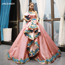 J66738 jancember floor length ball gown evening dress