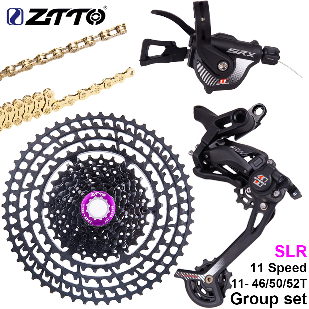 ZTTO 1 11 Speed MTB Shifter Mountain Bike Bicycle rear Derailleur Hanger Extension 46 50 52T