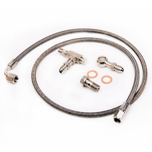 Kinugawa M12x1.5mm Turbo Óleo Kit Line Feed 100 cm 4AN Universal