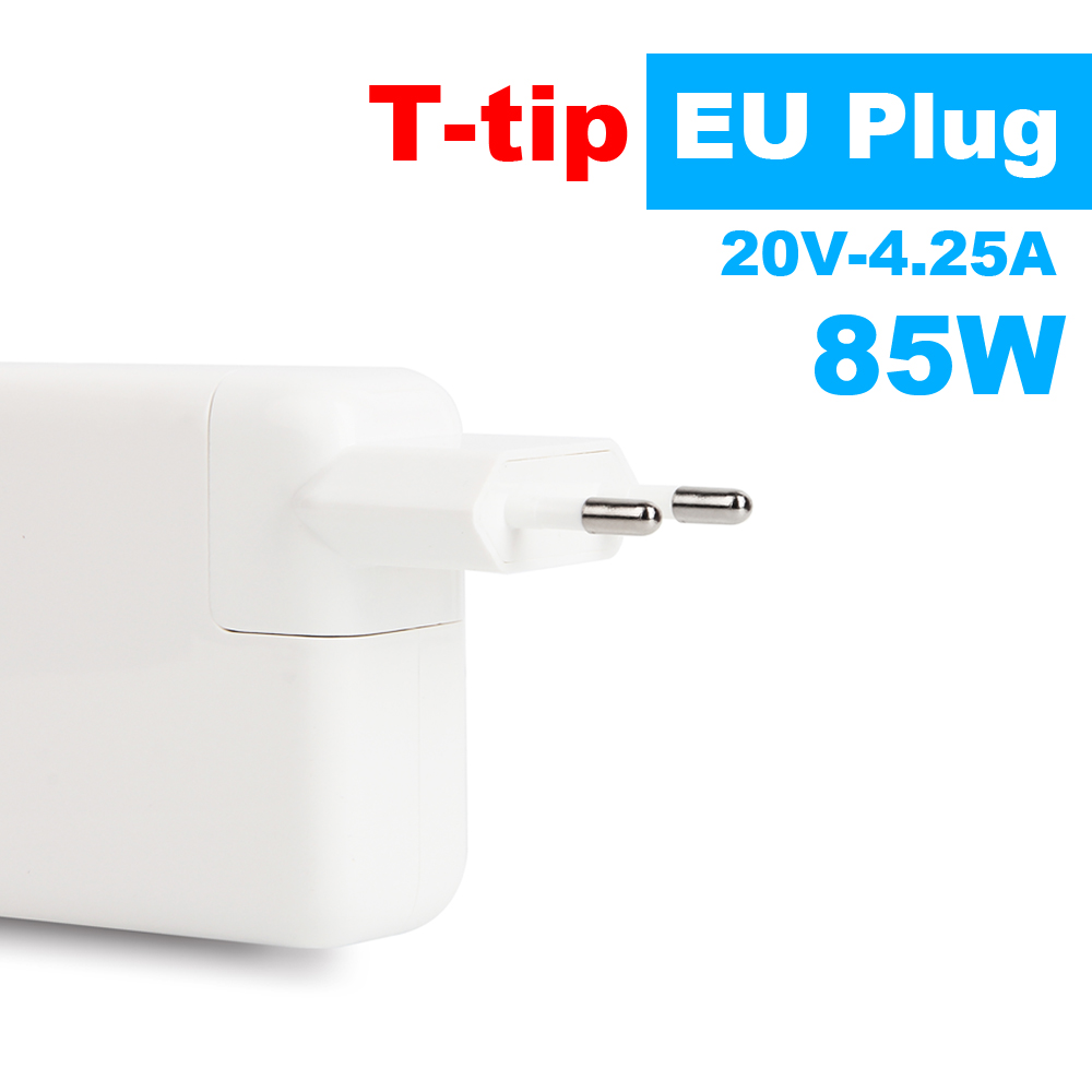 Brand New! T-tip 85W 20V-4.25A Laptop Power Adapter Charger for Apple MacBook Pro Retina 15'' 17'' A1398 A1424