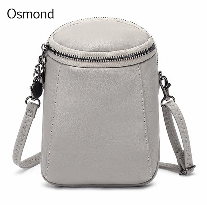 Osmond Casual Handy Tasche Frauen Mode Schulter Taschen Kleine Feste Messenger Tasche Für Damen Vintage Retro Bolsas Feminina