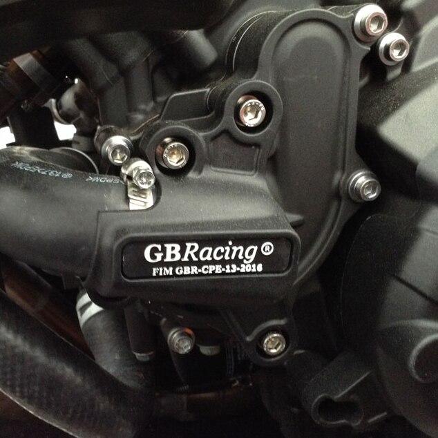 Motos Moteur couverture Protection cas pour cas GO Racing Pour YAMAHA MT09 FZ09 2014-2019 Moteur CoversProtectors - 5