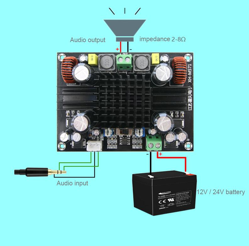 Image 2 - 150W Single track Digital power audio amplifier board heavy bass Subwoofer amplifier mono for Speakeramplifier monosubwoofer amplifier monoamplifier board -