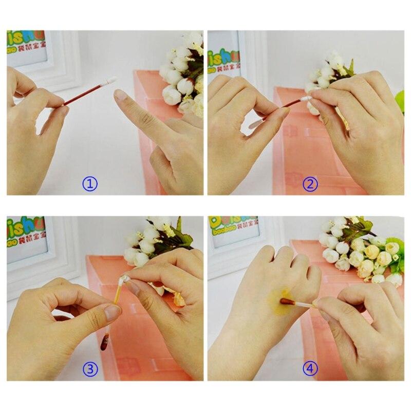 Pratico 1 Box Tampone Di Cotone Con Medico Iodio Usa E Getta Disinfettare Bastone Pack Individuale Fabbricazione Abile