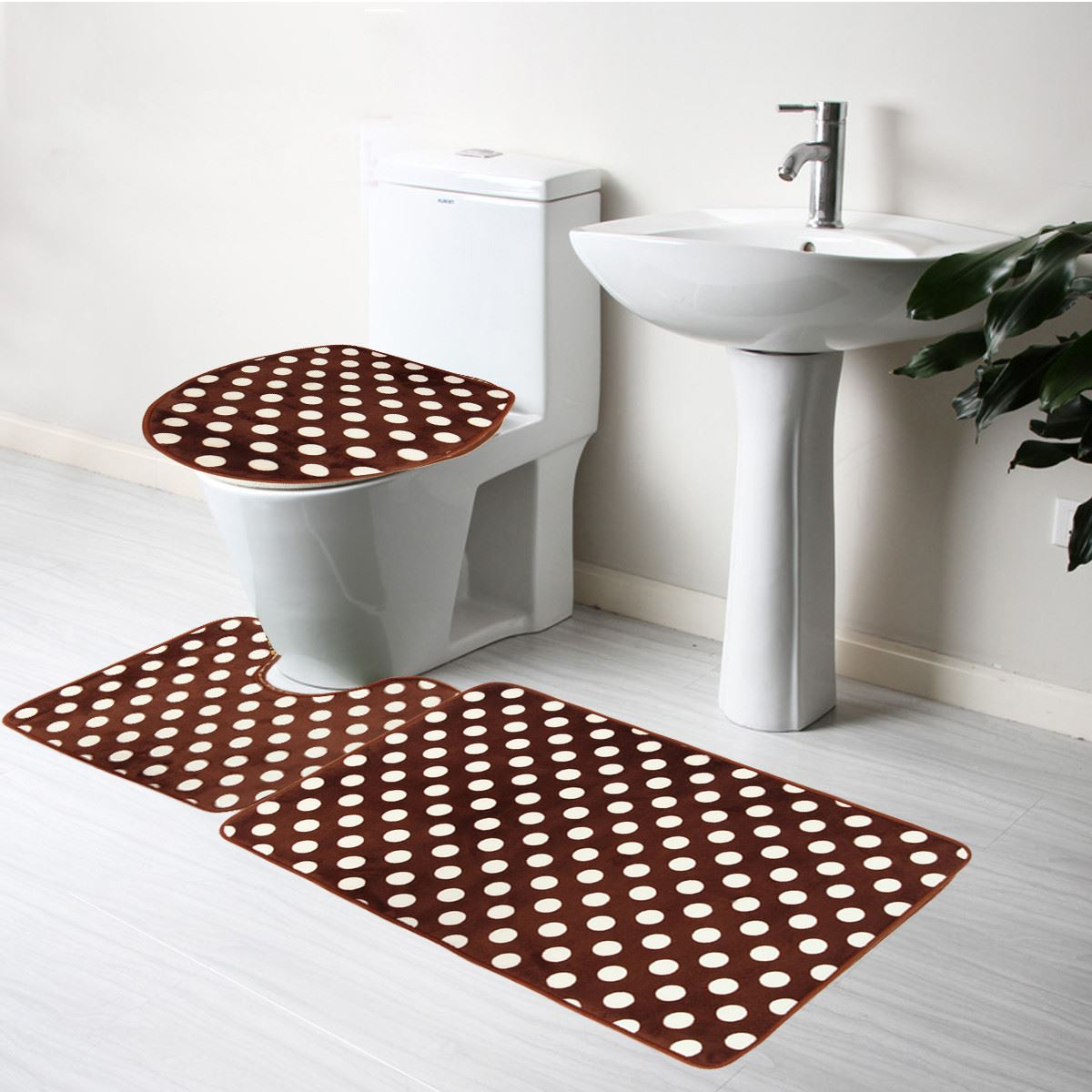 brown bath mat sets reviews - online shopping brown bath mat sets