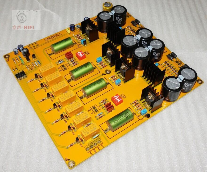 купить Assembled PASS 2.0 single-ended class A preamp board /FET preamplifier board по цене 5630.19 рублей