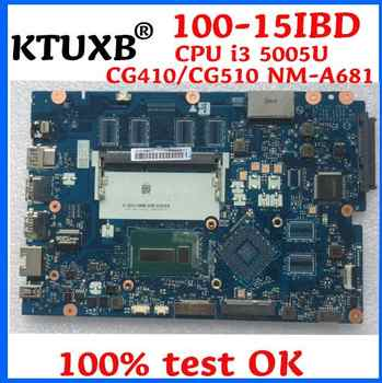 KTUXB CG410 / CG510 NM-A681 motherboard for Lenovo B50-50 100-15IBD notebook motherboard CPU i3 5005U DDR3 100% test work