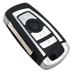 Image 3 - 3 düğme çevirme uzaktan anahtar 315 MHZ/433 MHZ ID44 PCF7935AA çip için BMW EWS 325 330 318 525 530 540 E38 E39 E46 M5 X3 X5 HU92 bıçak
