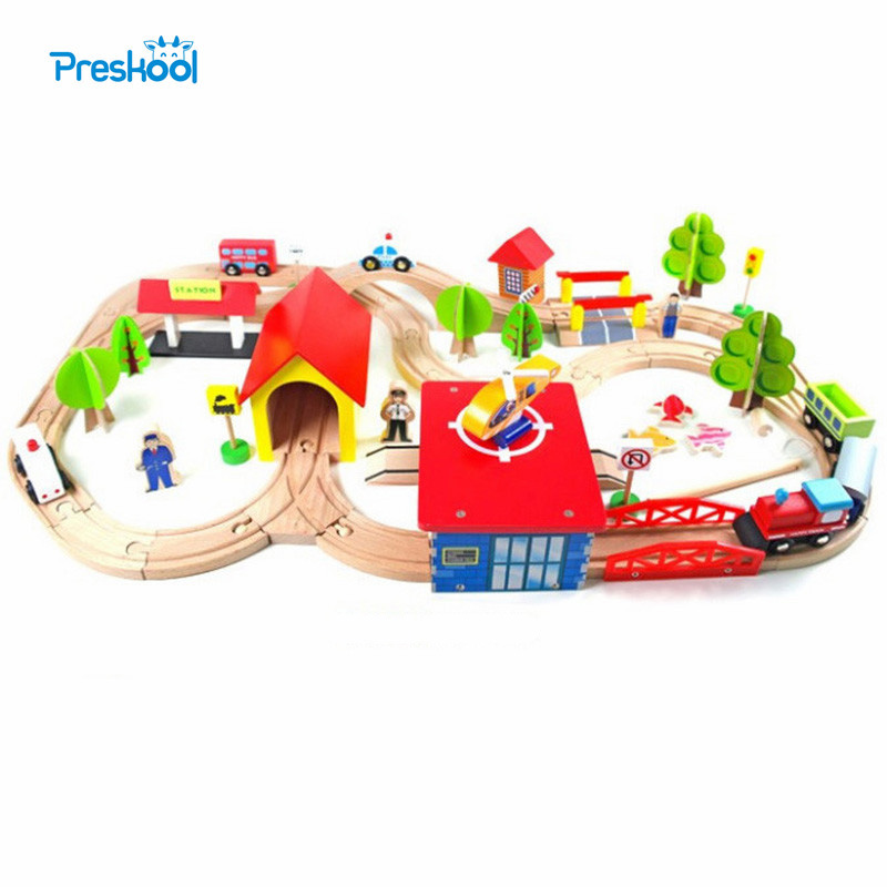 Baby Toy Track Train Slot Track Expansion Pack With Fishing Tool Learning Educational Toys Early Childhood Education Preschool стоимость