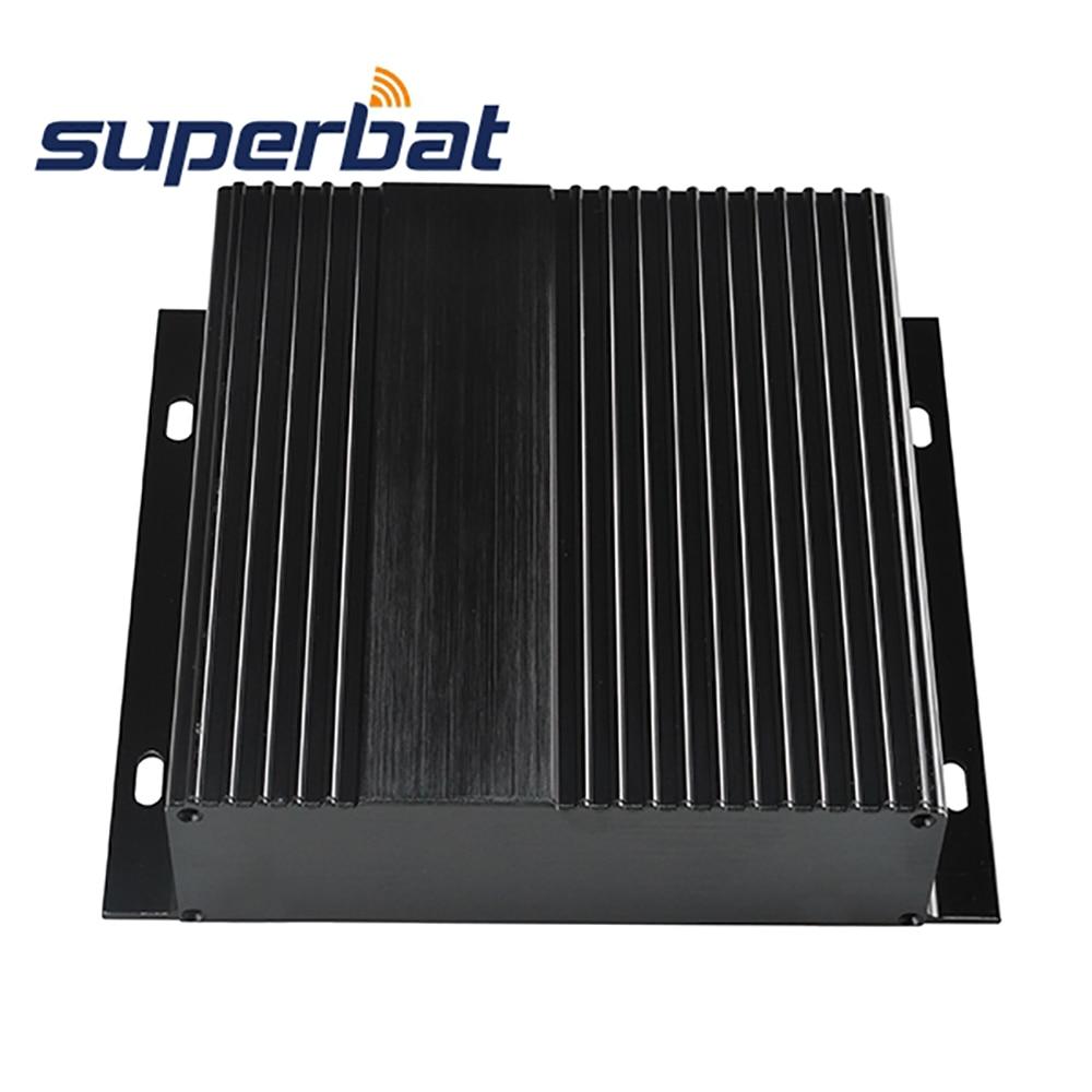 5.91″*6.61″*1.61″ Big Extruded Aluminum Instrument Enclosure Case Project Electronic PCB Box Black DIY 150*168*41MM +Screw Panel