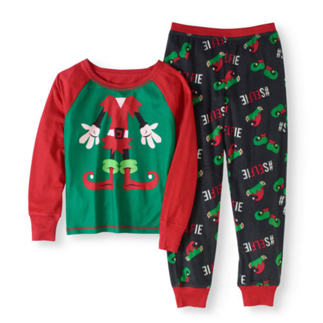 f1e4098927 Family Matching Kids Boy Mom Christmas Pajamas Set Sleepwear Nightwear  Headless Joker Top+Pants Set