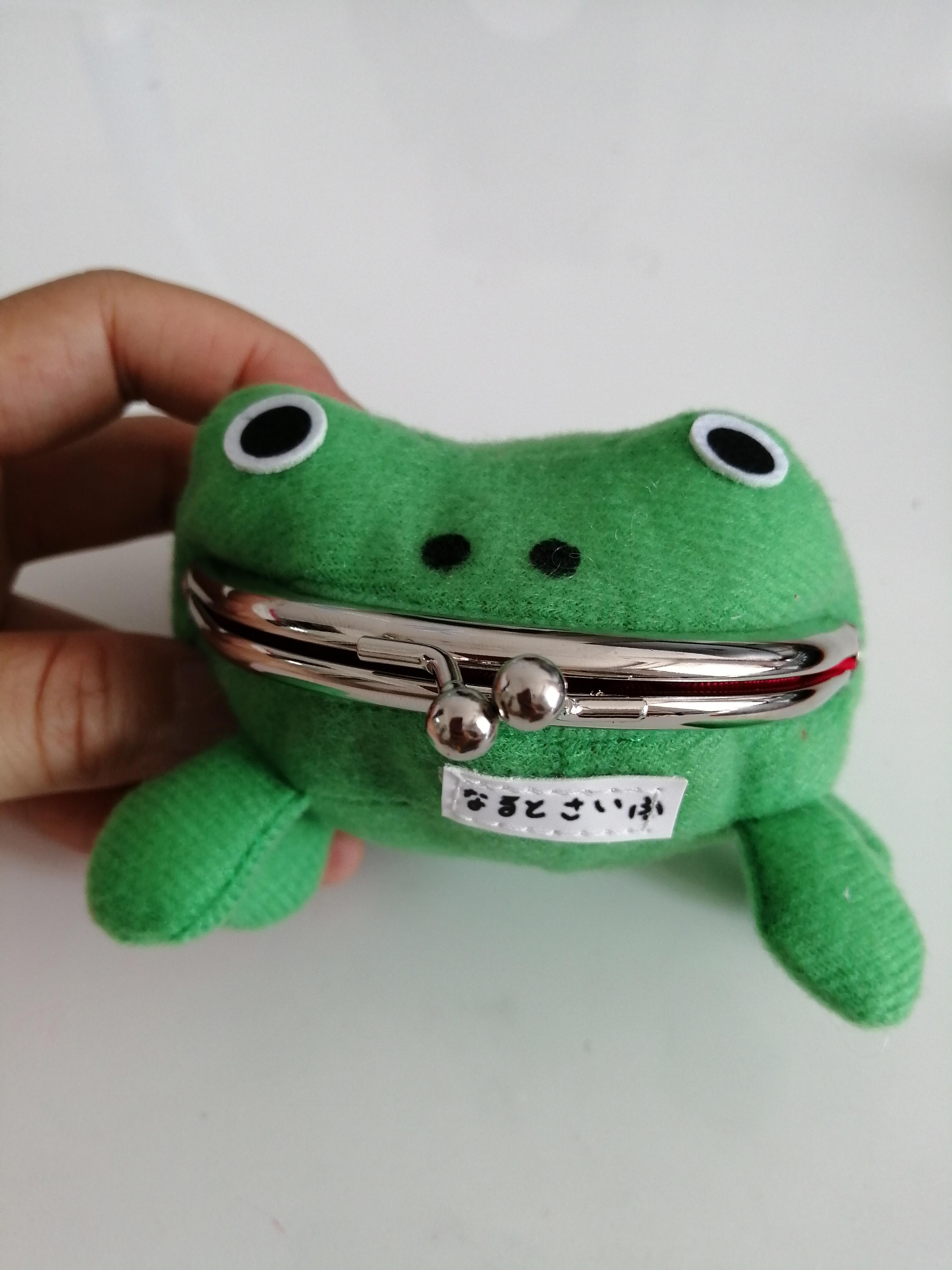 Anime Cartoon Naruto Naruto Frog Purse Wallet Coin Purse Originality Manga Flannel Wallet Cheap Cute Purse