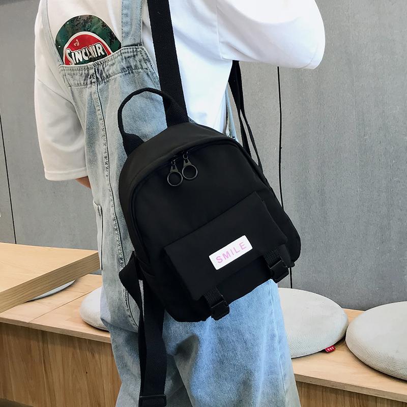 Oxford Backpack 2020 New Trend Women Backpack Wild Fashion Shoulder Bag Small Canvas Teen Girl School bag Mochilas Female