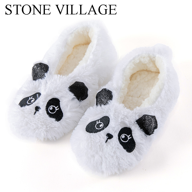 STONE VILLAGE New Arrival Winter Warm Plush Slippers Solid Super Soft Home Slippers Indoor  Butterfly-Knot Women Slippers ShoesSTONE VILLAGE New Arrival Winter Warm Plush Slippers Solid Super Soft Home Slippers Indoor  Butterfly-Knot Women Slippers Shoes