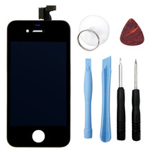 LCD Screen Display Touch Digitizer Assembly For Iphone 4S With Open Tools Replacement Part Assembly P0601 T18 0.35
